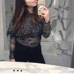 Lace Zara Top